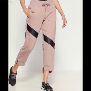 Yoga Comfort Diagonal Stripe Sweatpants